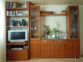 Wohnzimmerschrank + Eckschrank : Kirschbaum - Fa. Rose