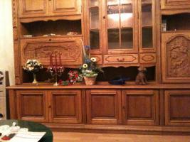 Wohnzimmerschrank Eiche Rustikal Mit Verzierungen In