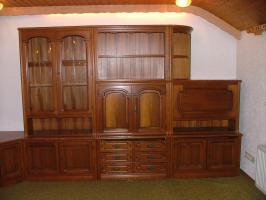 Wohnzimmerschrankwand Wohnzimmerschrank + Sideboard