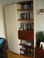 Foto 4 Wohnzimmerschrankwand beige-braun Massiv