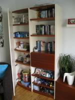Foto 5 Wohnzimmerschrankwand beige-braun Massiv