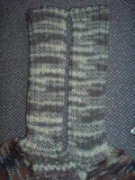 Foto 2 Wollsocken Gr. 45 handgestrickt NEU