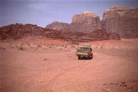 Foto 3 Wüstentour Wadi Rum ab Amman 2 Tage