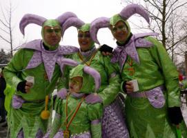 Wunder schönen Karneval Kostüme