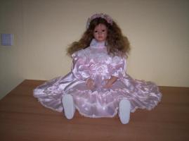 Foto 2 Wunderschöne Handangefertigte 64cm große Sammlerpuppe mit Echt Haar