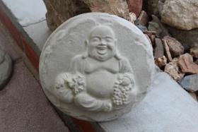 Wundersch�ne Trittsteine mit Buddha Motiv
