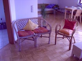 Foto 2 Wunderschöne, gepflegte Möbel! Bett, Essgruppe, Regale, Gartenmöbel, etc.!