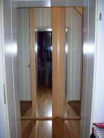 Wunderschöner Hülsta Kleiderschrank mit vier großen Spiegeltüren