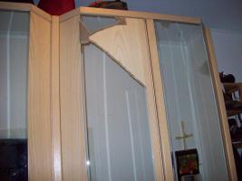 Foto 3 Wunderschöner Hülsta Kleiderschrank mit vier großen Spiegeltüren