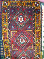 Wunderschöner Konya-Karaman Yastık Teppich