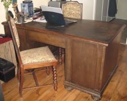 Foto 3 Wunderschöner alter Schreibtisch (1920-1930)