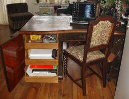 Foto 5 Wunderschöner alter Schreibtisch (1920-1930)