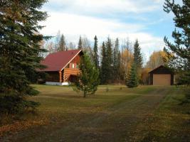 Wunderschönes Blockhaus in Kanada/British Columbia