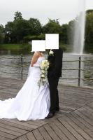 Foto 2 Wunderschönes Brautkleid 34/36 weiß