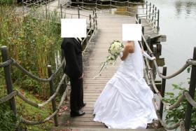 Foto 4 Wunderschönes Brautkleid 34/36 weiß