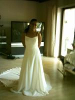 Wunderschönes Brautkleid in Cremeweiss Gr. 36