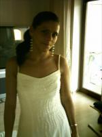 Foto 2 Wunderschönes Brautkleid in Cremeweiss Gr. 36