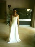 Foto 4 Wunderschönes Brautkleid in Cremeweiss Gr. 36