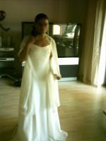 Foto 5 Wunderschönes Brautkleid in Cremeweiss Gr. 36