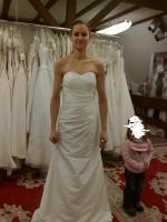 Wunderschönes Brautkleid Größe 34 für zierliche Frauen