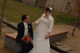 Foto 2 Wunderschönes Brautkleid von Modeca, Gr. 44