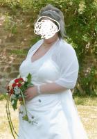 Wunderschönes Brautkleid inkl. Zubehör zu verkaufen