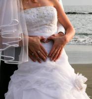 Foto 4 Wunderschönes Brautkleid zu verkaufen!!!  Gr.34