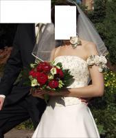Foto 3 Wunderschönes Hochzeitskleid