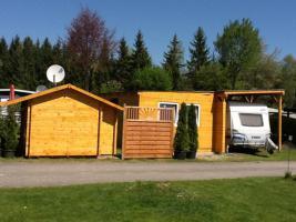 Foto 2 Wunderschönes Holzhaus auf Dauercampingplatz am Wallersee