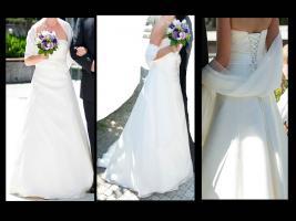 Wunderschönes, schlichtes, aber elegantes Brautkleid - Marylise Samantha