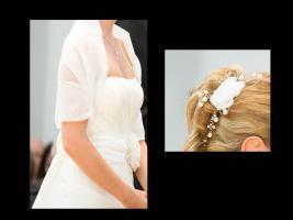 Foto 2 Wunderschönes, schlichtes, aber elegantes Brautkleid - Marylise Samantha