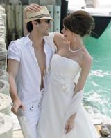 Foto 3 Wunderschönes, schlichtes, aber elegantes Brautkleid - Marylise Samantha