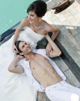 Foto 5 Wunderschönes, schlichtes, aber elegantes Brautkleid - Marylise Samantha