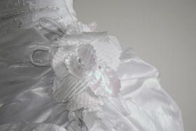 Foto 5 Wundeschönes und NEUES Brautkleid, Gr. 36-38, Farbe: weiß