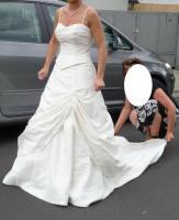 Wundeschönes Sincerity Bridal Kleid in ivory