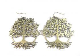 Wunsch-Baum Ohrringe