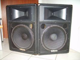 YAMAHA S115IV (S 115 IV) passive Fullrange Lautsprecher Boxen (2 Stück vorhanden)