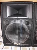 Foto 2 YAMAHA S115IV passive Fullrange Lautsprecher Boxen 2 Stück