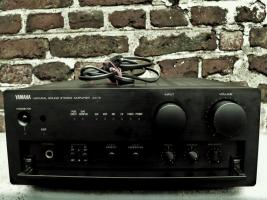 Foto 2 Yamaha A-X 9 Kompakt VOLLVERSTÄRKER, schwarz, S. GUTER ZUSTAND
