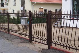 Foto 3 Zäune aus Polen, Zaun, Metallzäune, Doppelstabmatten, Schmideeisenzäune, Fenstergitter, Balkongeläder