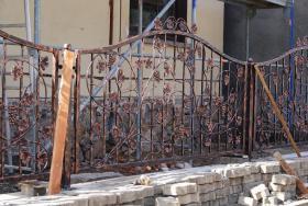 Foto 5 Zäune aus Polen, Zaun, Metallzäune, Doppelstabmatten, Schmideeisenzäune, Fenstergitter, Balkongeläder