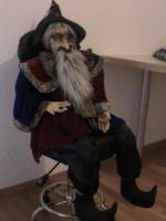Foto 3 Zauberer von OZ Puppe
