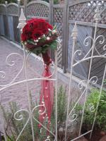 Brautsrauß rot