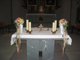 Altarschmuck Hochzeit