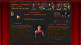 Webseite der Zauberschule