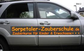 Autobeschriftung Zauberschule in NRW und im HSK