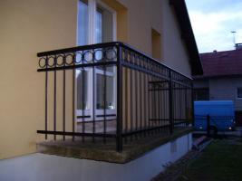 Foto 3 Zaun Metallzaun, Zäune aus Polen, Geländer , Metalltreppen, Balkone, Tore, , Fenstergitter!!!