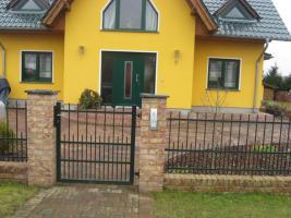 Foto 4 Zaun aus Polen, Gelander Tore Gitter Metalltreppen  Toranlage