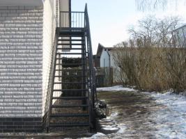 Foto 6 Zaun aus Polen, Gelander Tore Gitter Metalltreppen  Toranlage