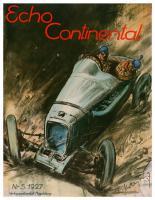 Zeitschrift ECHO CONTINENTAL, 1920 – 1936
